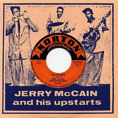 JERRY McCAIN AND HIS UPSTARTS - Geronimo Rock & Roll (Norton) 7'