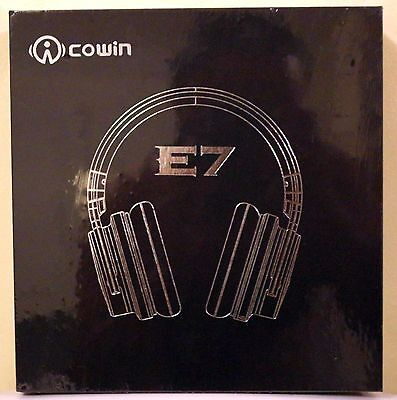 NEW Cowin E-7 ACTIVE Noise Cancelling Headphones Over-ear Wireless 100% SELLER