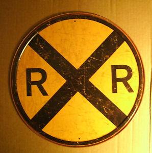 old railroad signs ebay