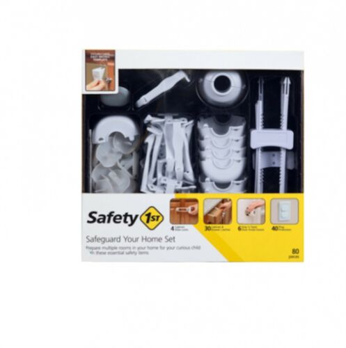 Safety 1st 80-PC Home Safeguarding Set for Protecting Children HS2650600