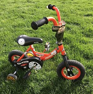 "12 "" toddler bike with training wheels"