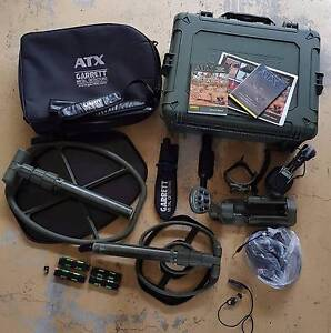 Garrrett ATX Deep Seeker Package with extra's (used) Swansea Lake Macquarie Area Preview
