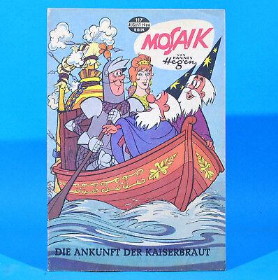 Mosaik 117 Digedags Hannes Hegen Originalheft DDR Sammlung original MZ 7