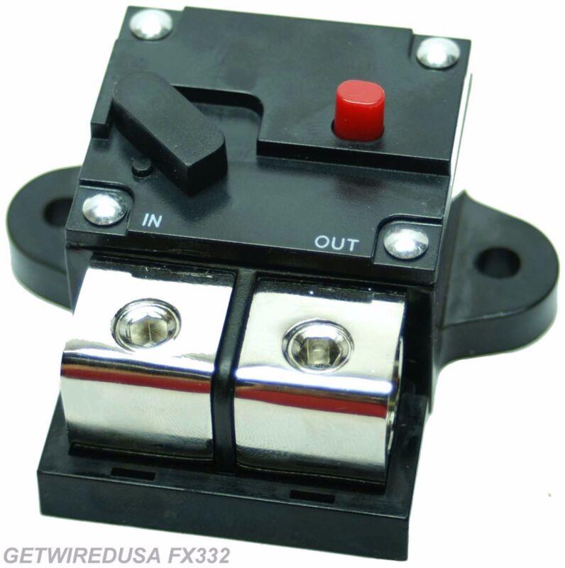 500-AMP 1/0, 0, 1, 2, GAUGE AWG WIRE CIRCUIT BREAKER HEAVY DUTY CAR AUDIO MARINE