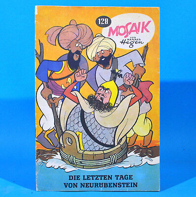 Mosaik 128 Digedags Hannes Hegen Originalheft DDR Sammlung original MZ 15