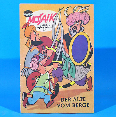 Mosaik 121 Digedags Hannes Hegen Originalheft DDR Sammlung original MZ 11