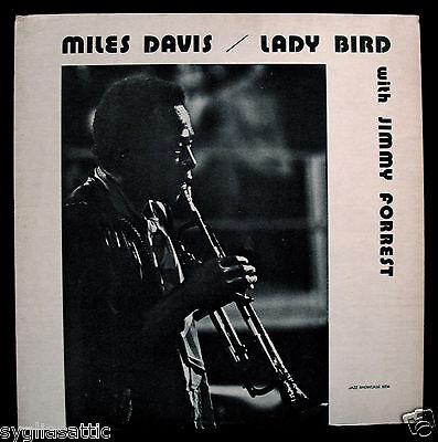 MILES DAVIS with JIMMY FORREST-Lady Bird- Jazz Album-JAZZ SHOWCASE #JS 5004