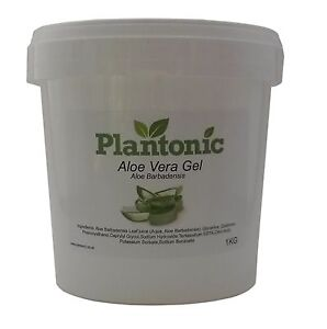 99 pure aloe vera gel 1kg tub ebay. Black Bedroom Furniture Sets. Home Design Ideas