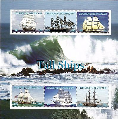 TALL SHIPS SEA VESSELS BOATS NAUTICAL 2016 MNH STAMP SHEETLET