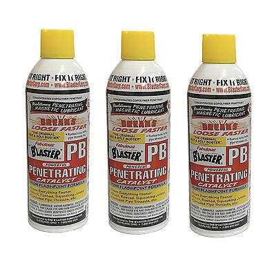 11 Oz Blaster 16-PB Anti-Rust Corrosion Penetrating Catalyst Lubricant Oil Spray