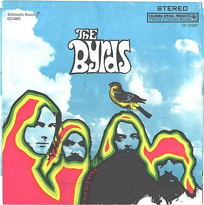 BYRDS--4-SONG PAPER-EP-PICTURE SLEEVE + 45----PS--PIC---SLV (Pic 4 Song)