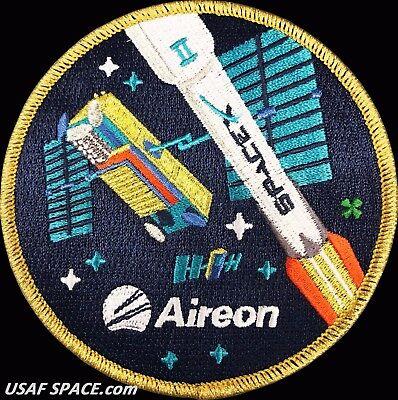 Original Aireon  Iridium Next 2   Spacex Falcon 9 Launch Satellite Mission Patch