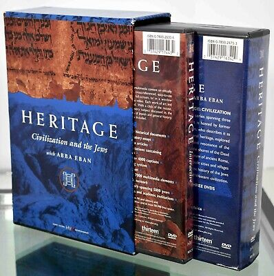Heritage Civilization and the Jews w/ Abba Edan 3 DVD & 1 DVD-ROM Box Set