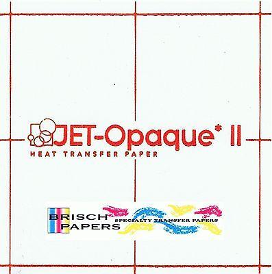 Inkjet Transfer Paper For Dark Fabric Neenah Jet Opaque Ii 8.5x11 25 Ct