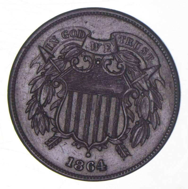 1864 Two-Cent Piece *9046