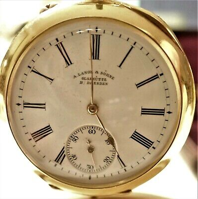 A. Lange & Sohne 18k PW in Pristine Condition w Original Case