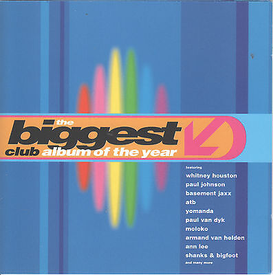 The Biggest Club Album Of The Year By Va  2 Cds  1999 Global Tv  39 Tracks Uk