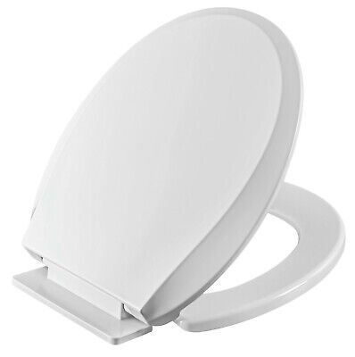 Winfield Heavy Duty Toilet Seat, Round/Elongated Slow Close Easy Install & Clean