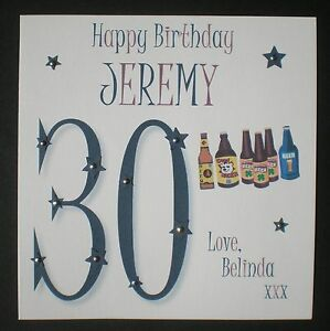 PERSONALISED-HANDMADE-BIRTHDAY-CARD-30TH-4OTH-50TH-60TH-70TH-80TH-90TH
