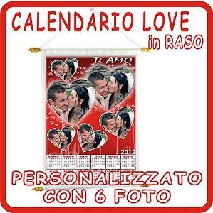 CALENDARIO-LOVE-in-RASO-bianco-PERSONALIZZATO-con-6-FOTO