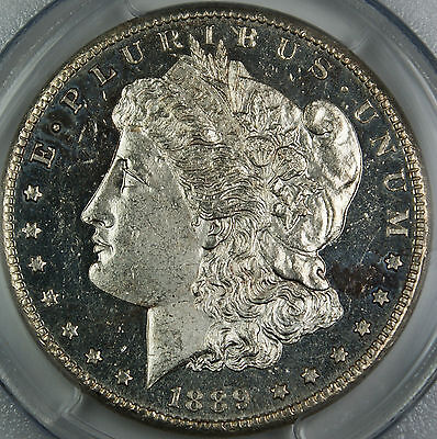 Click now to see the BUY IT NOW Price! 1889-CC PCGS MS-62 DMPL $1 MORGAN SILVER DOLLAR, KEY CARSON CITY COIN