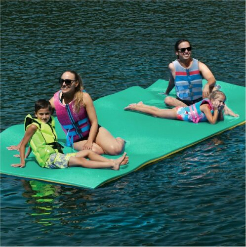 Layer Floating Oasis Water Pad Island Water Sports Mat Float Pad