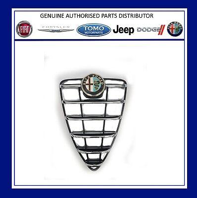 New Genuine Alfa Mito 2008 2013 Radiator  Bumper Grille And Badge 156100201