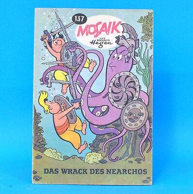 Mosaik 137 Digedags Hannes Hegen Originalheft DDR Sammlung original MZ 14