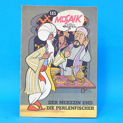 Mosaik 135 Digedags Hannes Hegen Originalheft DDR Sammlung original MZ 6