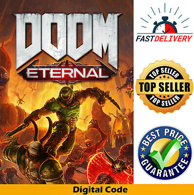 New DOOM Eternal Game Key Xbox One / PS4 / PC Steam Global Key **Fast Delivery**