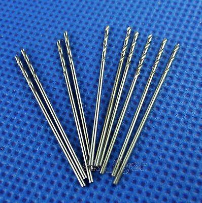 10pcs Small 0.7mm Pcb Drill Mini Press Hss Electrical Twist Drilling