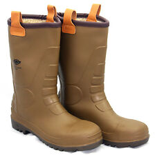 Dickies Groundwater Safety Rigger Waterproof Work Boot Steel Toe Wellington 6-12