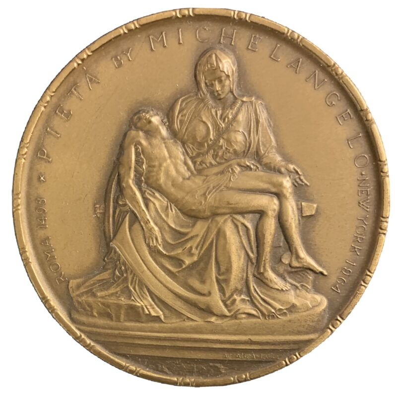 The Pieta at the Vatican Pavilion at the NY World's Fair 1964-65 ((2-1/2 inches)