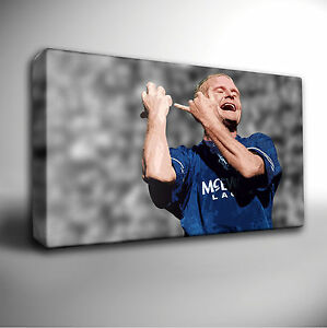PAUL-GASCOIGNE-GAZZA-FLUTE-CELEBRATION-RANGERS-GICLEE-CANVAS-ART