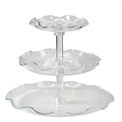 Glo-ice Acrylic Buffet Serving Display Trays For Catering Home Entertaining
