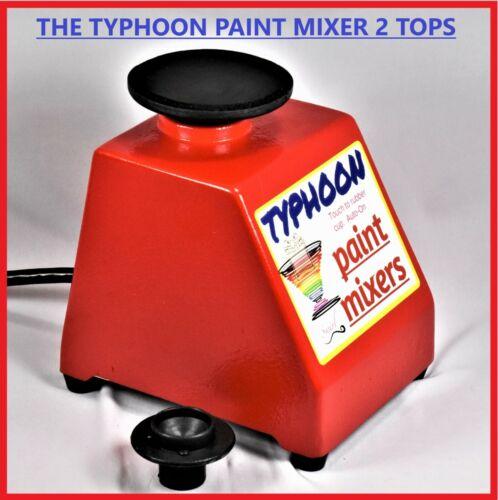 TYPHOON PAINT MIXER 2 TOPS! VALLEJO, CITADEL, MIXES ANY HOBBY PAINT!  SEE VIDEO!