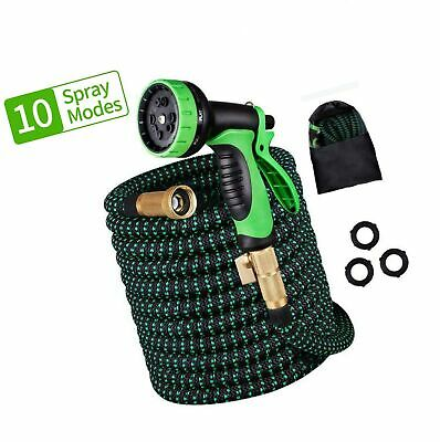 ERKOON Upgraded 50ft Expandable Garden Hose, Water Hose with 10 Function Nozz...