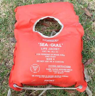 SEAGULL LIFE JACKET -for over 40kg ADULT. Illawong Sutherland Area Preview