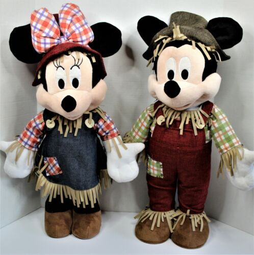 """Disney Mickey & Minnie Mouse Door / Porch Greeters Fall / Scarecrow  22"""""""