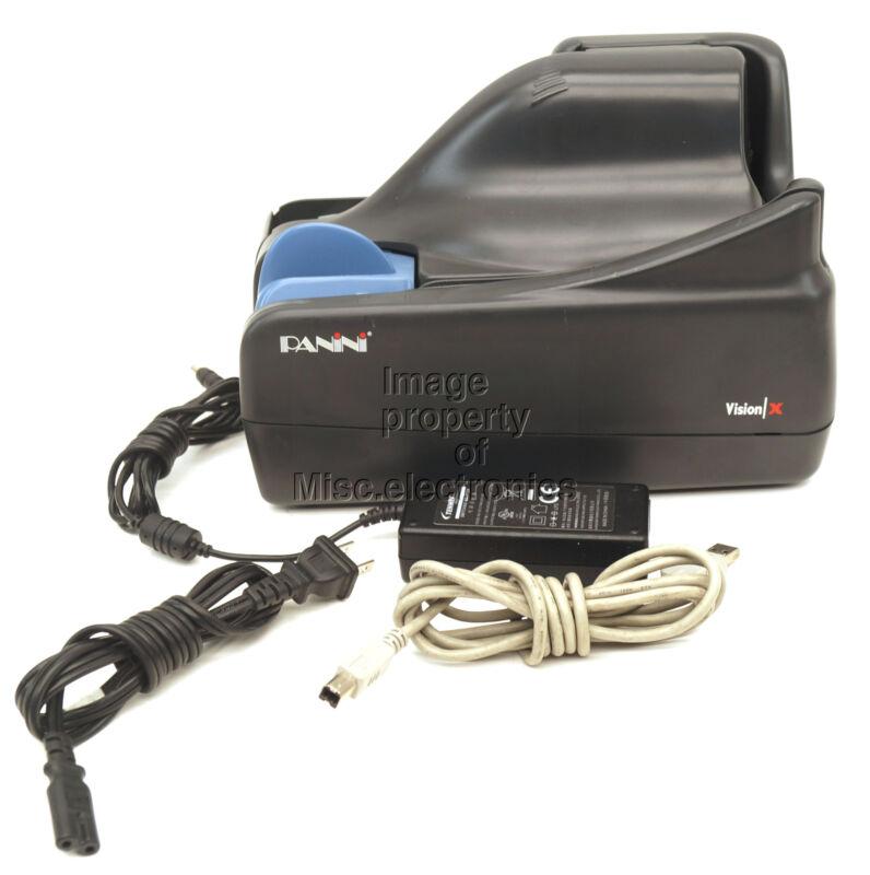 Panini Vision X Check Reader Scanner E172976 (VX100.1.FF.IJ.B) w/ USB & Power