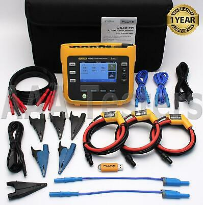 Fluke 3540 Fc Three-phase Power Condition Monitor 10.24 Khz 3540-fc
