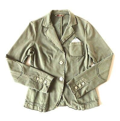 MASON'S khaki jersey blazer/ jacket  - It. 40 - veste avec pochette