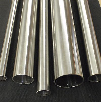 Stainless Steel Tubing 1 O.d. X 36 Inch Length X 116 Wall Tube Pipe Tb25x36