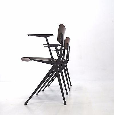 Result Chair Stühle , industriele Design 50er Jahre