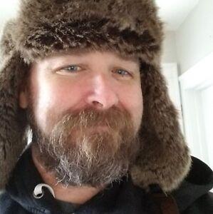 Faux raccoon hat