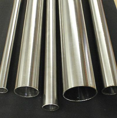 Tb22x6 Stainless Steel Tubing Polished 78 O.d. X 6 Inch Length X 116 Wall