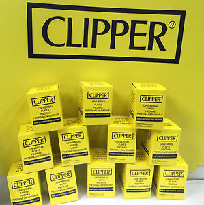 9 x CLIPPER Lighter Flints Universal Flint For All Types Lighters Cigarette NEW