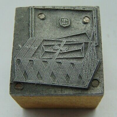 Printing Letterpress Printers Block Box Of Mail Or Envelopes