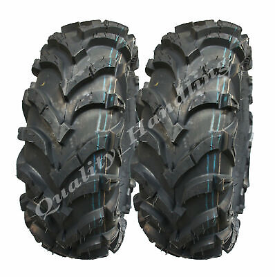 24x9-11 Quad ATV tyres 4ply Wanda 'E' Marked ATV tyres 24 9.00 11 pair- set of 2