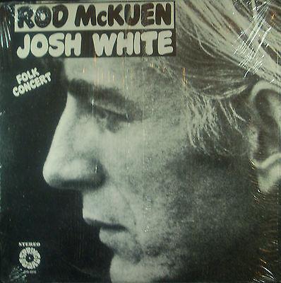 LP ROD McKUEN / JOSH WHITE - folk concert, Trampolino di lancio
